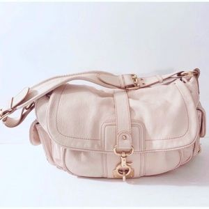 Marc Jacobs Blush Pink Leather Selma Satchel